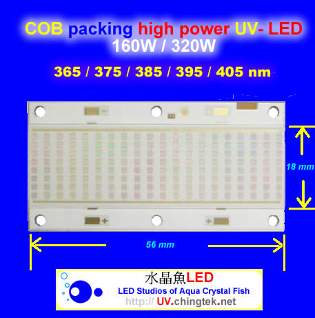 Technology - UV LED ultraviolet light module/lamp 160/320W - UV-X06 Series (UVA 365/385/395/405nm ) with Water Cooling System For Industrial Diagnostic & Inspection / 3D printing / Flatbed Printer / Fluorescence check